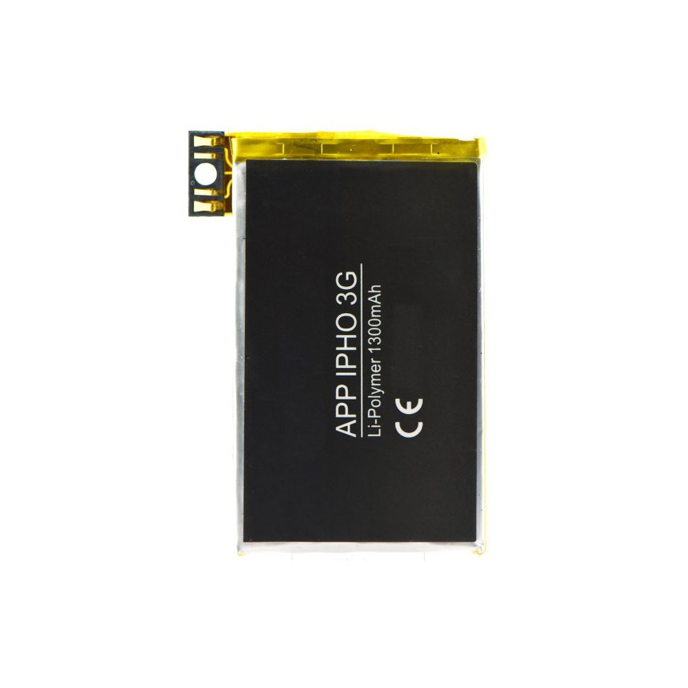 BATTERIA per APPLE IPHONE 3G - 1300 mAh Li-ion Polymer + FLAT CABLE E CONNETTORE