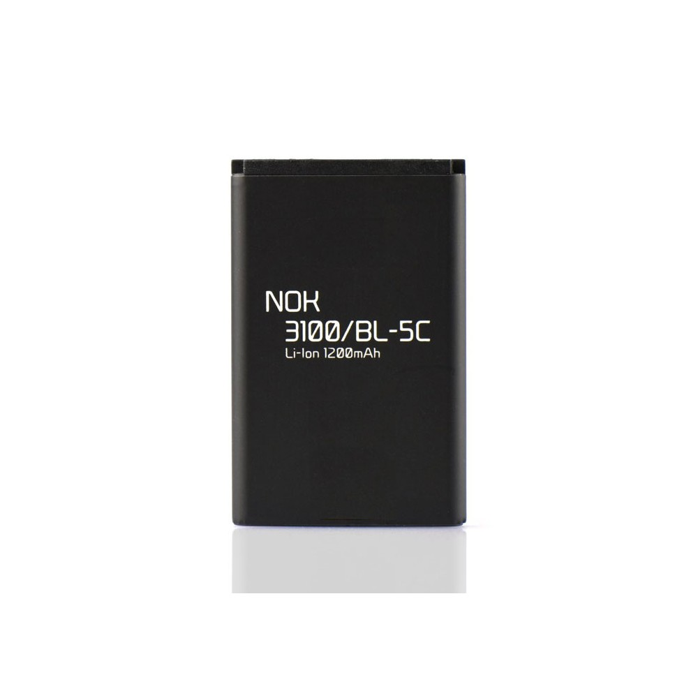 BATTERIA COMPATIBILE per NOKIA E60, 6155, X2-01 - 1200 mAh LI-ION SEGUE COMPATIBILITA'..