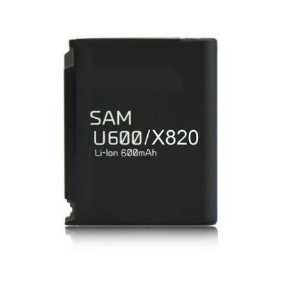 BATTERIA per SAMSUNG X820, U600 600 mAh Li-ion SEGUE COMPATIBILITA'..