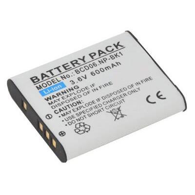 BATTERIA SONY Cyber-shot DSC-W180, Cyber-shot DSC-W190 600mAh Li-ion