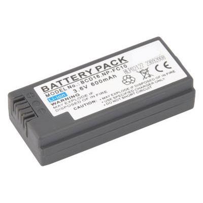 BATTERIA SONY Cyber-shot DSC-P12, Cyber-shot DSC-P2 600mAh Li-ion