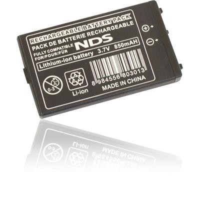 BATTERIA INTERNA per NINTENDO DS 700mAh LI-ION COMPATIBILE CON BATTERIA ORIGINALE NTR-003