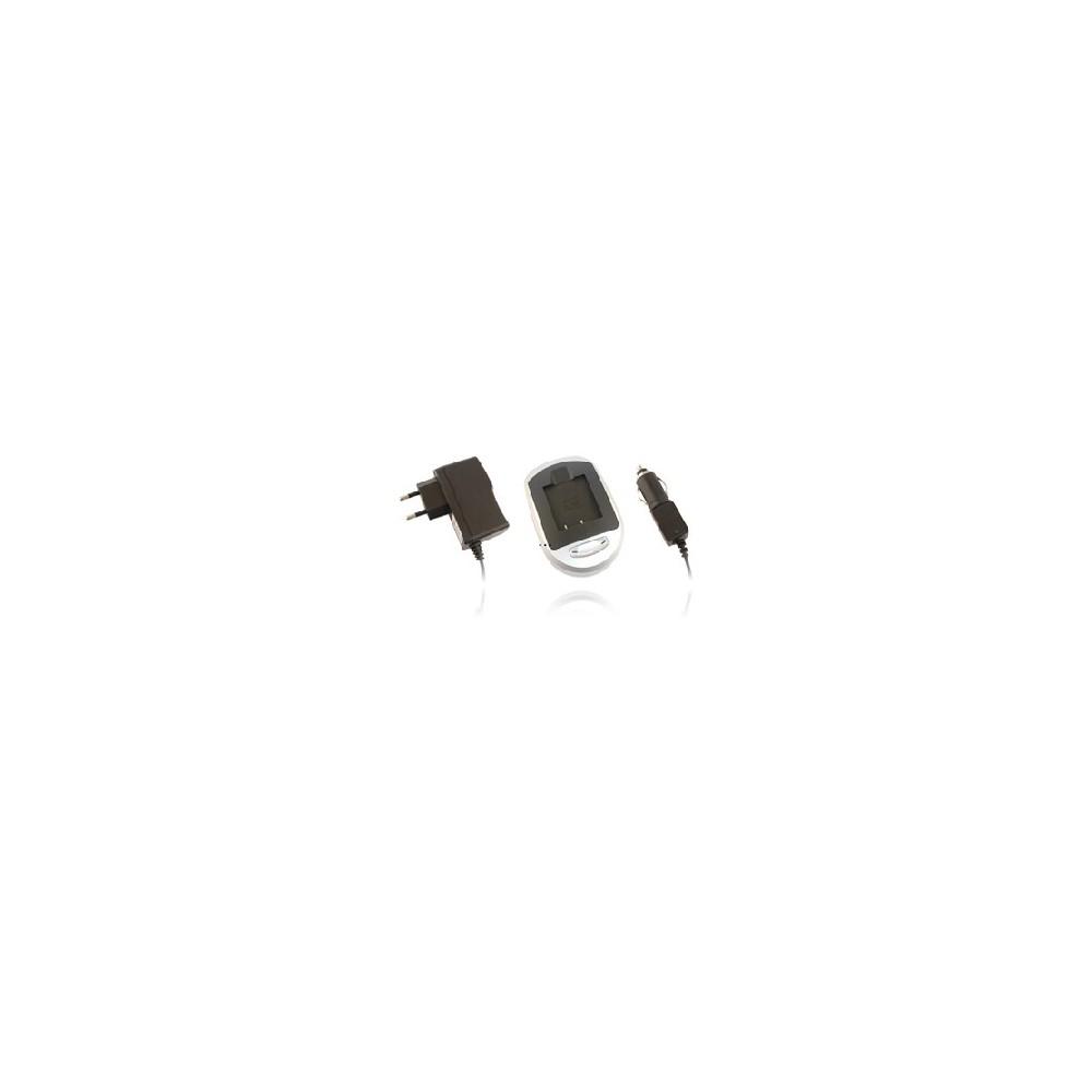 CARICATORE DA TAVOLO + CAVO AUTO INTEGRATO NP-40 per FUJIFILM FinePix Z1 Zoom, FinePix F455 Black SEGUE COMPATIBILITA'..