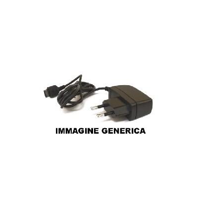 TRAVEL CASA SAMSUNG I5700 Galaxy Spica, i8910 Omnia HD ATTACCO MICRO USB 800 mAh COLORE NERO