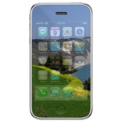 PELLICOLA PROTEGGI DISPLAY iPHONE 2G, 3G, 3Gs a SPECCHIO