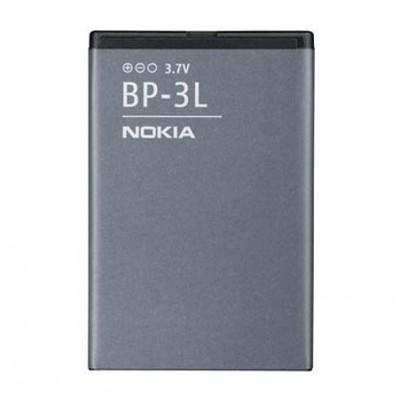 BATTERIA ORIGINALE NOKIA BP-3L per LUMIA 710, LUMIA 610, ASHA 303, 603 1300mAh LI-ION BULK SEGUE COMPATIBILITA'..