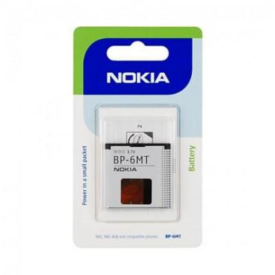 BATTERIA ORIGINALE NOKIA BP-6MT per N82, 6750, MURALl, 6350 1050mAh LI-ION BLISTER SEGUE COMPATIBILITA'..