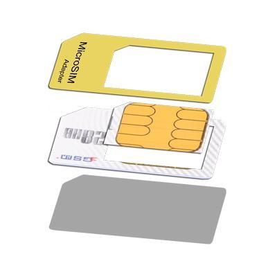 ADATTATORE DA MICRO SIM A SIM Confezione 1 Pz.