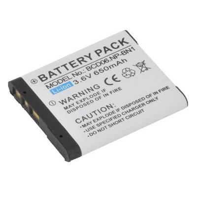BATTERIA SONY Cyber-shot DSC-T99, Cyber-shot DSC-W310 650mAh Li-ion