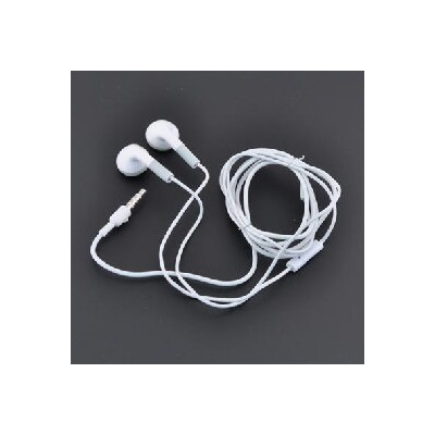 AURICOLARE STEREO APPLE IPHONE 2, 3, 3Gs, 4, 4s, IPAD, IPAD2/3 JACK 3,5mm COLORE BIANCO