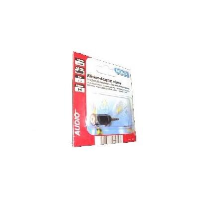 ADATTATORE AUDIO JACK 3,5mm MASCHIO / 2,5mm FEMMINA 3.5M/2.5F BULK
