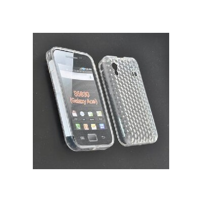 CUSTODIA GEL TPU SILICONE per SAMSUNG S5830 Galaxy Ace COLORE BIANCO