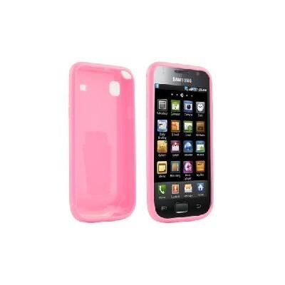 CUSTODIA GEL TPU SILICONE per SAMSUNG i9000 Galaxy S COLORE ROSA