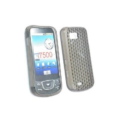 CUSTODIA GEL TPU SILICONE per SAMSUNG I7500 Galaxy COLORE NERO