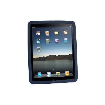 CUSTODIA SILICONE PER APPLE IPAD Wi-Fi, iPad Wi-Fi + 3G COLORE NERO