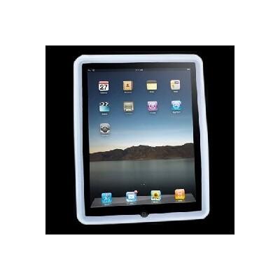 CUSTODIA SILICONE PER APPLE IPAD Wi-Fi, iPad Wi-Fi + 3G COLORE BIANCO