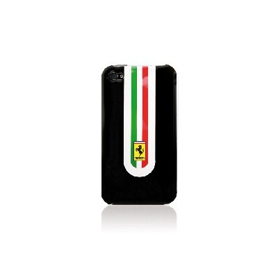 CUSTODIA RIGIDA FERRARI HFERRARICASE07 per IPHONE 4, 4s COLORE NERA