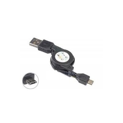 CAVO USB RETRAIBILE BLACKBERRY 8220 Pearl, 8900 Curve