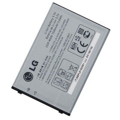 BATTERIA ORIGINALE LG LGIP-400N per OPTIMUS GT540, LAYLA GM750 1500mAh LI-ION BULK SEGUE COMPATIBILITA'..