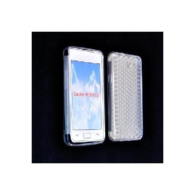 CUSTODIA GEL TPU SILICONE per SAMSUNG I9103 Galaxy R COLORE BIANCO