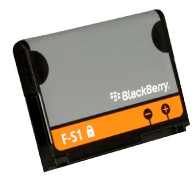 BATTERIA ORIGINALE BLACKBERRY F-S1 per TORCH 9800, TORCH 9810, CURVE 8910 1300mAh LI-ION BULK