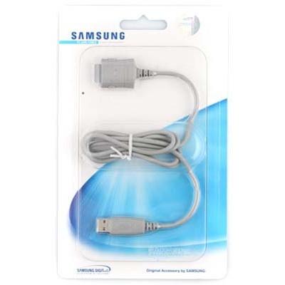 CAVO USB ORIGINALE SAMSUNG PCB180USEC per A300, E620, E730, P730 BLISTER