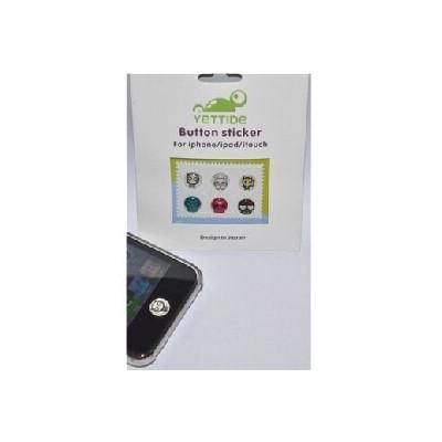 PULSANTI STICKER per APPLE IPHONE, IPAD, IPOD TOUCH confezione 6 Pz.