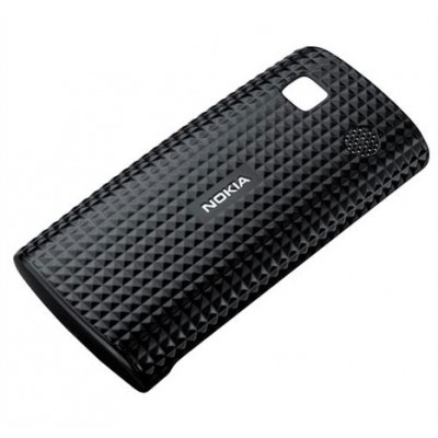 CUSTODIA BACK RIGIDA ORIGINALE CC-3026 per NOKIA 500 COLORE NERO BLISTER