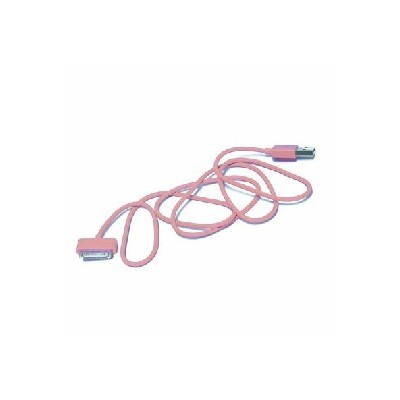 CAVO USB PER APPLE IPHONE, IPAD, IPOD COLORE ROSA