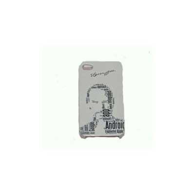 CUSTODIA RIGIDA per IPHONE 4, 4s IMMAGINE STEVE JOBS FANTASIA ' C '