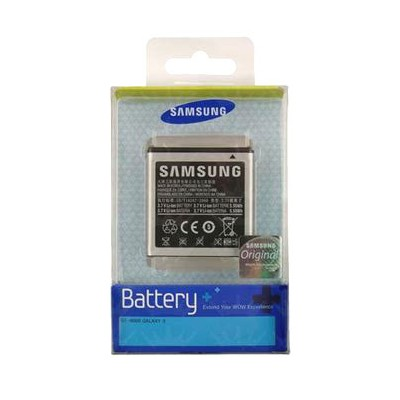 BATTERIA ORIGINALE SAMSUNG EB575152VU per I9000 GALAXY S, I9001 GALAXY S PLUS 1500mAh LI-ION BLISTER SEGUE COMPATIBILITA'..