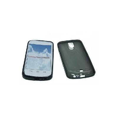 CUSTODIA GEL TPU SILICONE per SAMSUNG i9250 Galaxy Nexus COLORE NERO