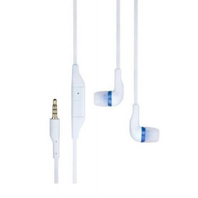 AURICOLARE STEREO ORIGINALE NOKIA WH-205 IN SILICONE JACK 3,5mm per N95, X3-02, X6 COLORE ICE BLU BULK SEGUE COMPATIBILITA'..