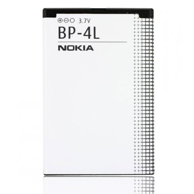 BATTERIA ORIGINALE NOKIA BP-4L per E90 COMMUNICATOR, N97, N97I 1500mAh LI-ION BULK SEGUE COMPATIBILITA'..