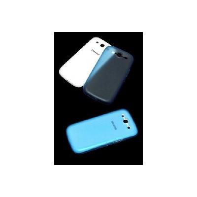 CUSTODIA RIGIDA SOTTILE SLIM per SAMSUNG I9300 Galaxy S3, I9305 Galaxy S3 LTE 4G COLORE AZZURRO
