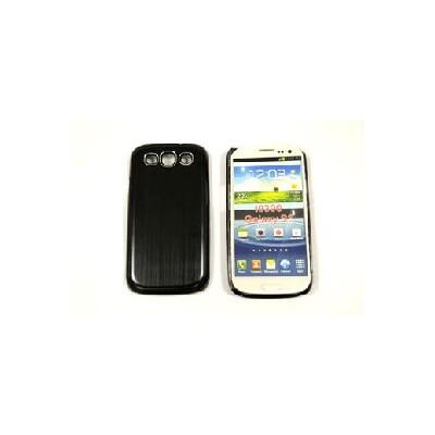 CUSTODIA RIGIDA per SAMSUNG I9300 Galaxy S3, I9305 Galaxy S3 LTE 4G NERO