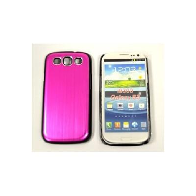 CUSTODIA RIGIDA per SAMSUNG I9300 Galaxy S3, I9305 Galaxy S3 LTE 4G ROSA