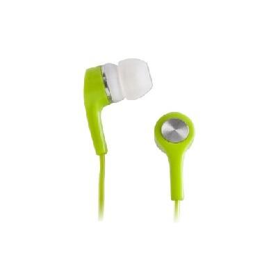 AURICOLARE STEREO SILICONE MP3/MP4 JACK DA 3,5 mm COLORE VERDE