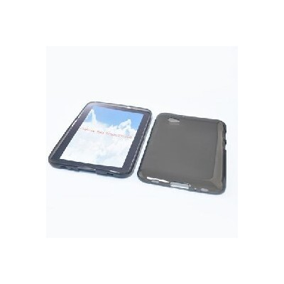 CUSTODIA GEL TPU SILICONE per SAMSUNG P6200 Galaxy Tab 7.0 Plus COLORE NERO