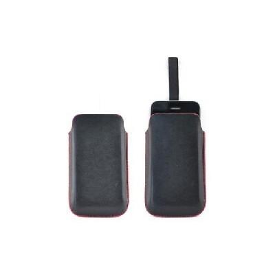CUSTODIA IN PELLE A SACCHETTO IPHONE 3G/3GS/4/4S COLORE NERO