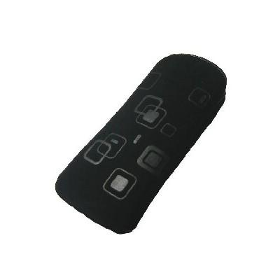 CUSTODIA A SACCHETTO IN TESSUTO per APPLE IPHONE 4, 4s E MODELLI SIMILARI FANTASIA FLEX COLORE NERO