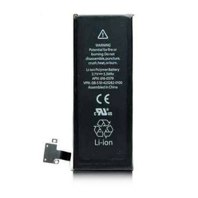 BATTERIA OEM per APPLE IPHONE 4S - APN: 616-0579 - 1430 mAh LI-ION BULK (NO LOGO APPLE)