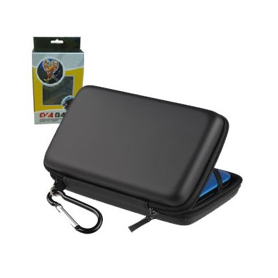 CUSTODIA RIGIDA PER NINTENDO DS COLORE NERO EVA BAG