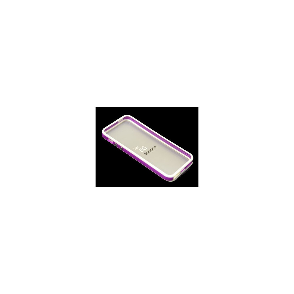 COVER BUMPER CUSTODIA Per Apple Iphone 5 5S Silicone Fucsia