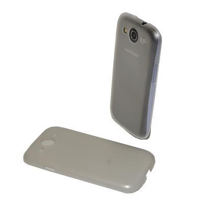 CUSTODIA RIGIDA SOTTILE SLIM per SAMSUNG I9300 Galaxy S3, I9305 Galaxy S3 LTE 4G COLORE GRIGIO