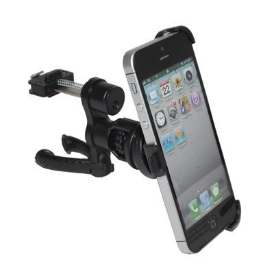 SUPPORTO AUTO CON CONNETTORE PLUS PER PRESE D'ARIA CON SNODO per APPLE IPHONE 5, 5S