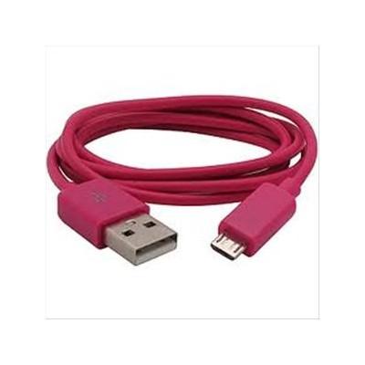 CAVO USB ACER beTouch T500 ATTACCO MICRO USB LUNGHEZZA 1 MT COLORE ROSSO