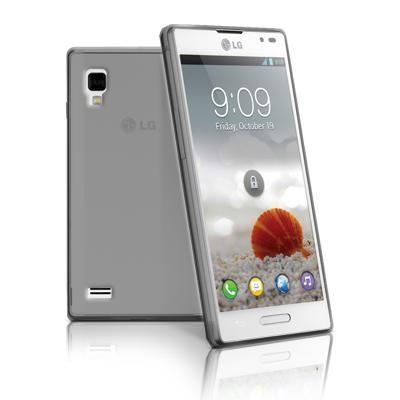 CUSTODIA GEL TPU SILICONE per LG L9 Optimus P760 COLORE NERO