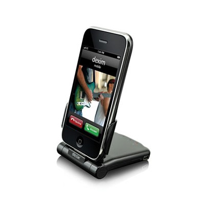 BASETTA DOCKING P-FLIP IPHONE 4S, IPOD TOUCH 3G COLORE NERO BULK DEXIM