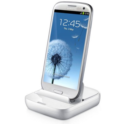 DOCK STATION ORIGINALE SAMSUNG EDD-D200WEGSTD per I9500 GALAXY S4, N7100 NOTE2 COLORE BIANCO SEGUE COMPATIBILITA'..
